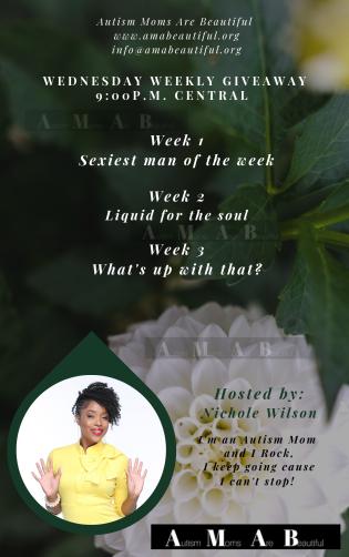 Wednesday Weekly Giveaway